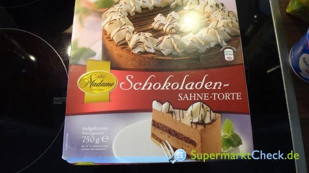 Foto von Cafe Madame Schokoladen Sahne Torte