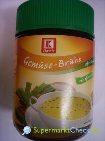Foto von K Classic Klare Gemüse-Brühe