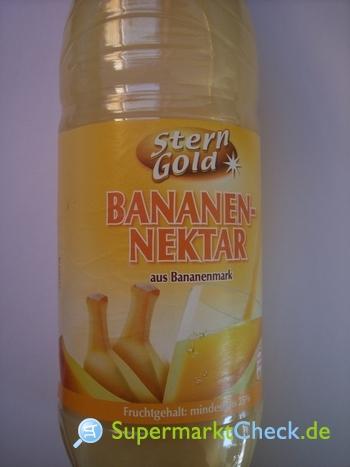 Foto von Sterngold Bananen-Nektar