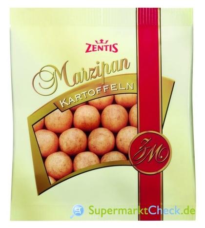 Foto von Zentis Marzipankartoffeln