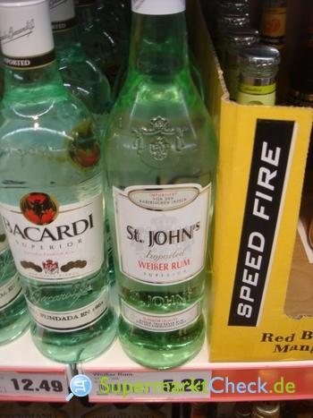 Foto von St. Johns Weißer Rum
