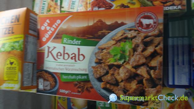 Foto von gut & günstig Rinder Kebab