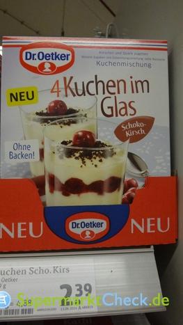 Foto von Dr. Oetker 4 Kuchen im Glas