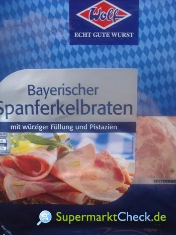 Foto von Wolf Bayerischer Spanferkelbraten