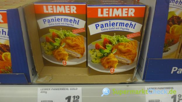 Foto von Leimer Paniermehl Extra