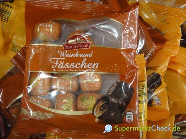 Foto von Reichsgraf Weinbrand Fässchen