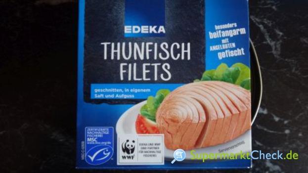 Foto von EDEKA Thunfisch Filets