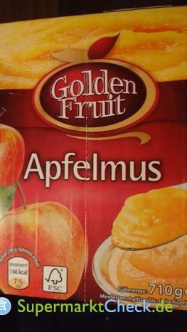 Foto von Golden Fruit Apfelmus