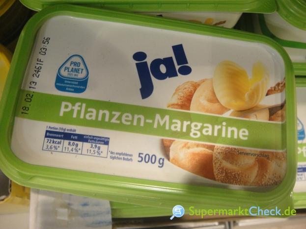 Foto von Ja! Pflanzen Margarine