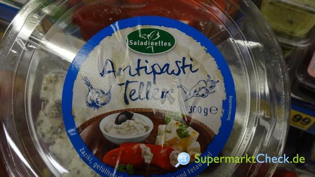 Foto von Saladinettes Antipasti Teller