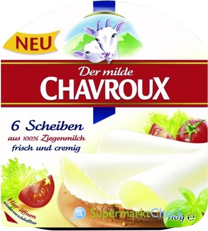 Foto von Chavroux Scheiben Käse