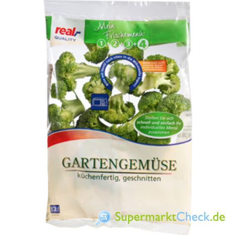 Foto von real Quality Garten Gemüse Brokkoli