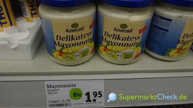 Foto von Alnatura Delikatess Mayonnaise