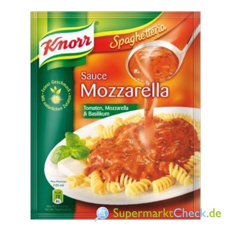 Foto von Knorr Spaghetteria Sauce