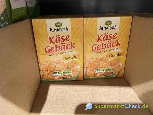 Foto von Alnatura Käse Gebäck