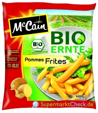 Foto von McCain Bio Ernte Pommes Frites