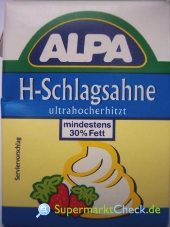 Foto von Alpa H-Schlagsahne