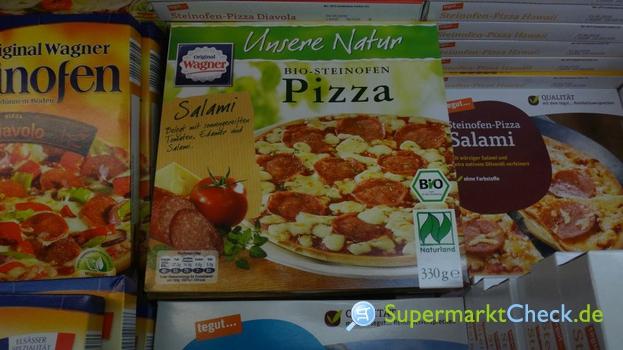 Foto von Wagner Unsere Natur Bio Steinofen Pizza Salami