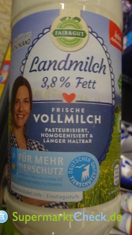 Foto von Fair & Gut Landmilch Frische Vollmilch