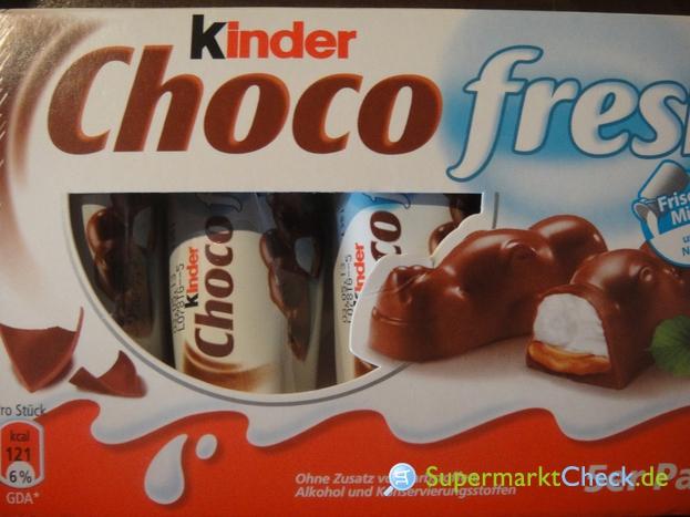 Foto von Ferrero Kinder Choco Fresh