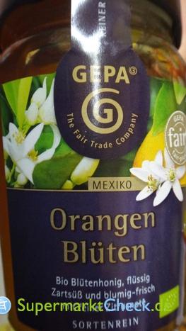 Foto von Gepa Bio Orangenblütenhonig