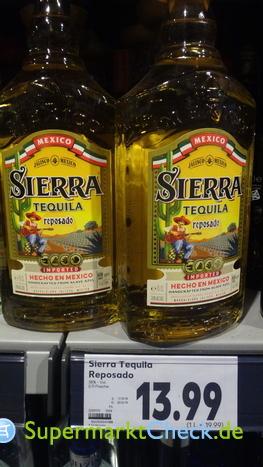 Foto von Sierra Tequila Reposado