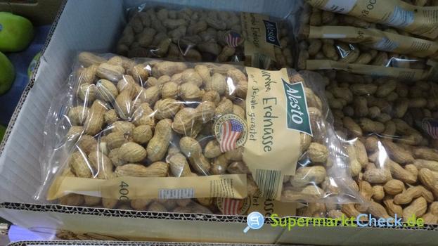 Foto von Alesto / Lidl Jumbo Erdnüsse geröstet