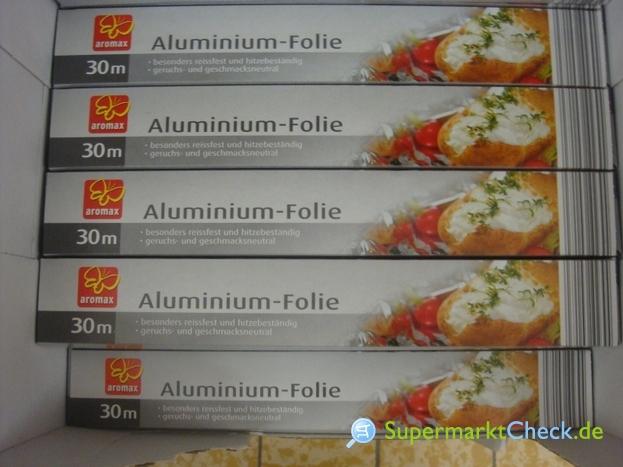 Foto von aromax Aluminium-Folie
