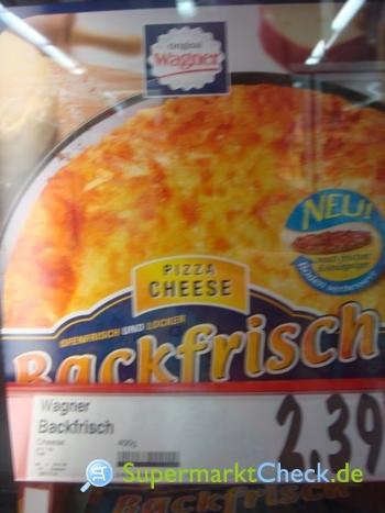 Foto von Original Wagner Backfrisch Pizza