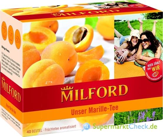 Foto von Milford Unser Marille-Tee