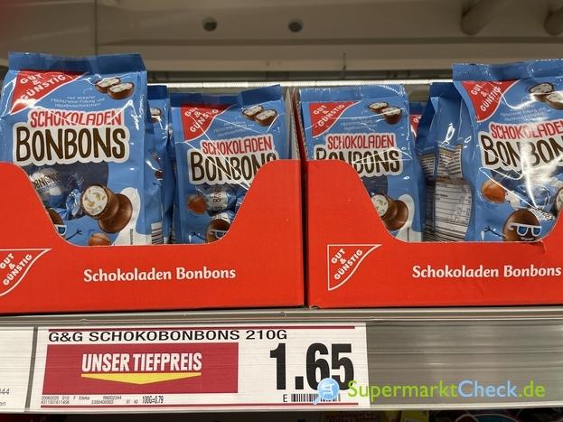 Foto von gut & günstig Schokoladen Bonbons