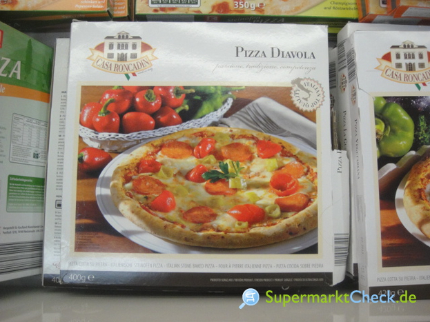 Foto von Casa Roncadin Pizza Diavola