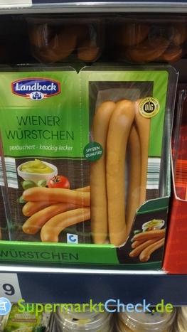 Foto von Landbeck / Aldi Nord Wiener Würstchen