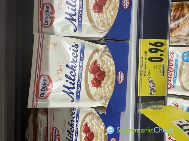 Foto von Dr. Oetker Süße Mahlzeit Milchreis