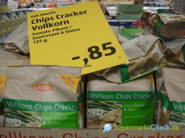 Foto von Sun Snacks Vollkorn Chips Cracker