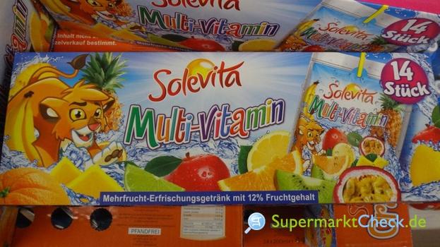 Foto von Solevita Multi Vitamin