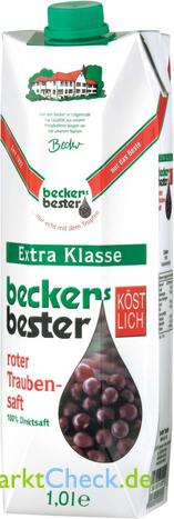 Foto von Beckers Bester Extra Klasse rotet Traubensaft