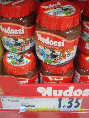 Foto von Nudossi  Nu Pagadi Milch-Kakao-Creme