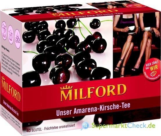 Foto von Milford Unser Amarena-Kirsche-Tee