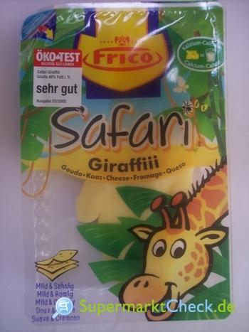 Foto von Frico Safari Giraffiii Gouda Käse