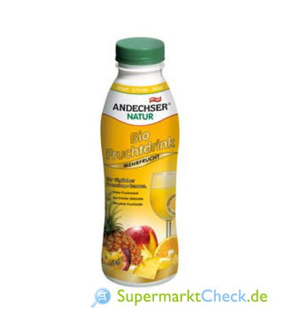 Foto von Andechser Natur Bio Fruchtdrink Mehrfrucht