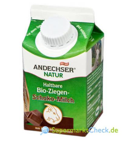 Foto von Andechser Natur Haltbare Bio-Ziegen-Schoko-Milch