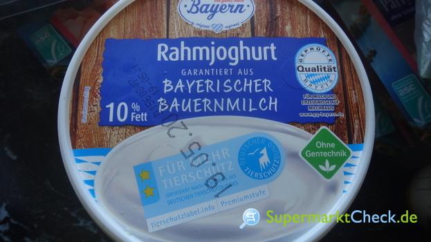 Foto von Ein gutes Stück Bayern Rahmjoghurt