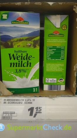 Foto von Schwarzwaldmilch haltbare Weidemilch
