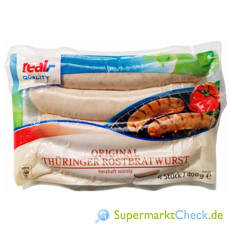 Foto von real Quality Orginal Thüringer Rostbratwurst