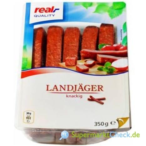 Foto von real Quality Landjäger