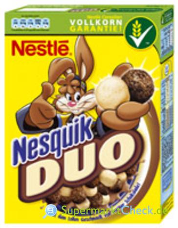 Foto von Nestle Nesquik Cereal