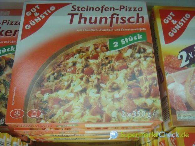 Foto von Gut & Günstig Steinofen Pizza