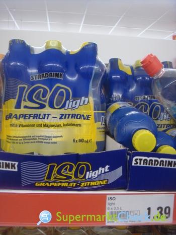 Foto von Stardrink ISO light Grapefruit Zitrone