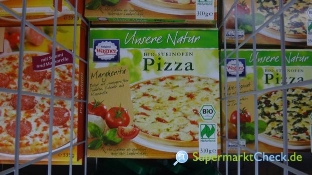 Foto von Wagner Unsere Natur Bio Steinofen Pizza